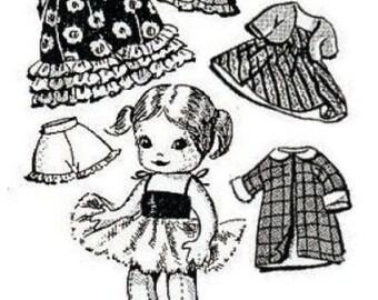 "9"" Ballerina Doll pattern"