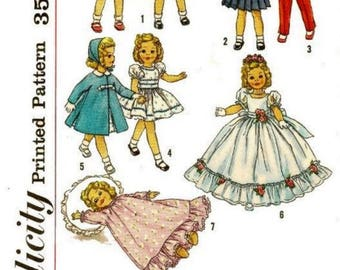 "Wardrobe for 12"" Shirley Temple, Ann Estelle, and Other Similar Dolls"
