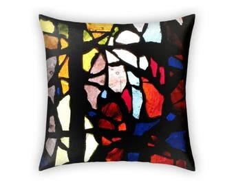 Throw Pillow / Modern Pillow - Fun Throw Pillow / Fun Home Decor / Fun Gift - Colorful Pillow Gift for Him / Gift for Her - Christmas Gift
