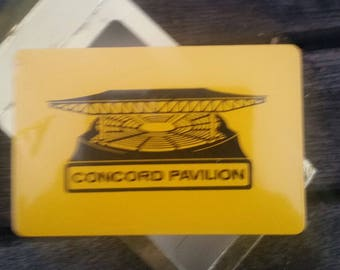 vintage deck of Playing Cards sealed in box CONCORD PAVILION