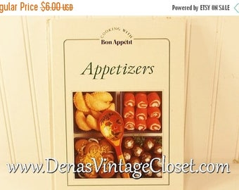 On Sale 25% OFF Vintage 1982  Cooking with Bon Appetit Appetizers Cookbook from The Knapp Press