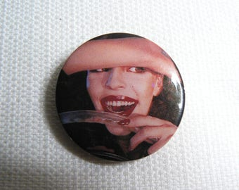 Vintage Late 70s The Cars - The Cars Self-Titled Debut Album (1978) Pin / Button / Badge