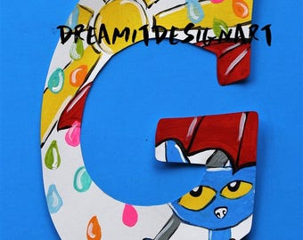 Pete the Cat Stay Groovy Alphabet Letter G