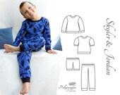 Pajama Pattern - Skyler & Jordan - PDF - 2T-10Y
