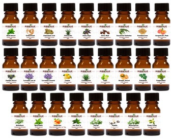 26 Set -100% Pure Therapeutic Grade Quality Essential Oils 5 ml  Organically Grown or Wild-Crafted FREE SHIPPING SHIP