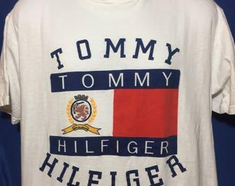 Vintage 90s bootleg Tommy Hilfiger t shirt *M