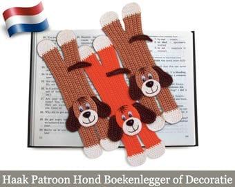 160NLY Haak patroon - Dog boekenlegger - Amigurumi haak patroon - PDF file by Zabelina Etsy