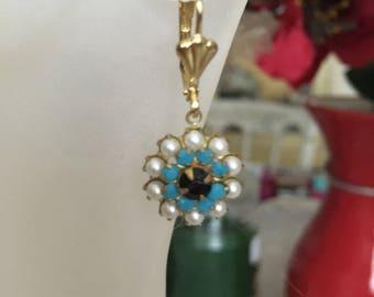 Vintage Style Lever Back Earrings