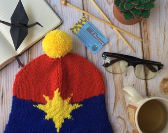 Captain Marvel Hat