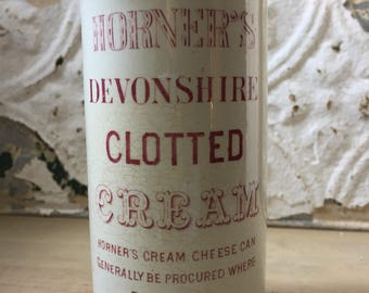Horner's Devonshire Rose Pink Clotted Cream Pot