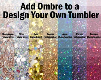 Add Ombre to a Design Your Own Tumbler