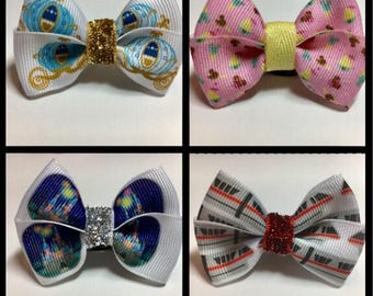 Monorail Castle Carriage Fancy Treats Magic Band Bows Bow Party Gift