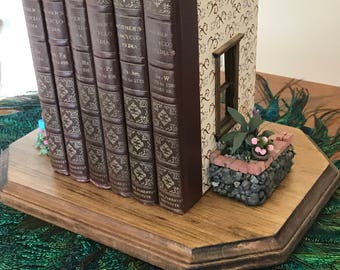 Miniature Room made from Books (Half-Scale)