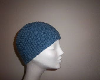 Hat woman wool (blue)