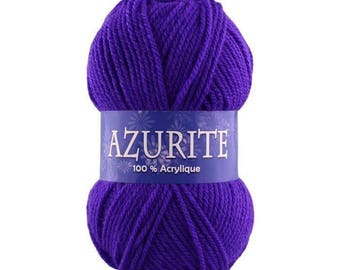 Azurite 0203 electric purple yarn
