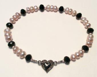 Pearl collar, cat collar, small dog collar, fancy collar, beaded collar