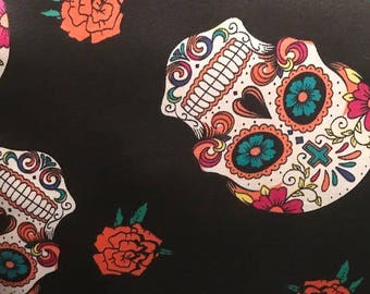 Mr. Calavera Skull Pillow