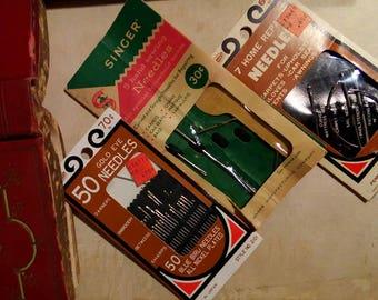 Vintage Needle Pack Lot