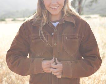 Vintage 70's Brown Lee Jacket