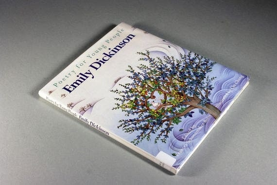 Children's Hardcover Book, Poetry for Young People Emily Dickinson, Illustrated, Children's Poetry, For Ages 5 to 12,
