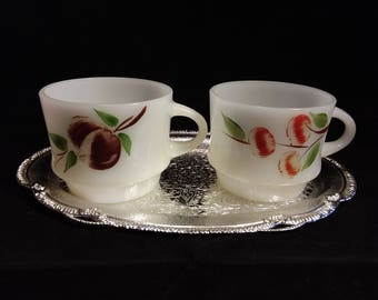 Fireking Gay Fad Studios Coffee Cups  Set of 2