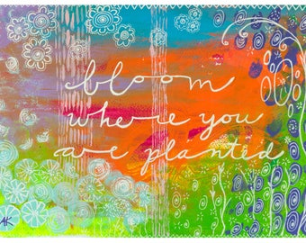 Bloom Giclee medium sized print