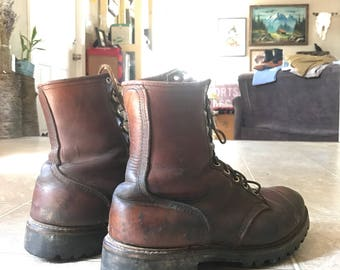 VINTAGE 1970's Red Wing Irish Setter Sport Boots - Size 9 1/2