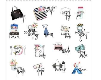 Get It Girl Icon Sheet