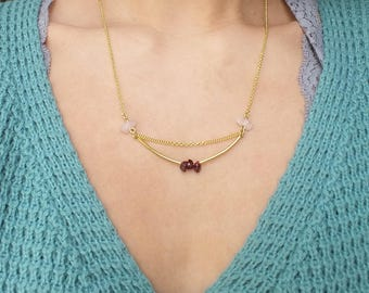 Necklace AVENTURA rose
