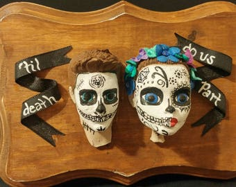 Day of the Dead cameo couple