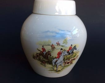 Vintage Twining Ceramic Tea Canister from England