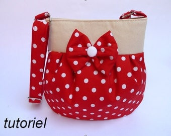 Tutorial for bag Lolita e-book and pattern