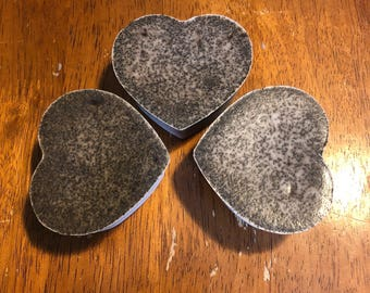 Heart Shaped Soap 3 Pack
