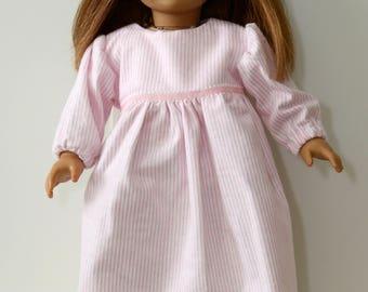 18 Inch Doll Flannel Nightie