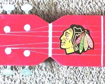 One Of Kind Custom Made Chicago Cubs, Blackhawks, Or Bears Tailgate BAR SHOT GUITAR!! Also Can Customize Any Guitar Shot You Want!!!