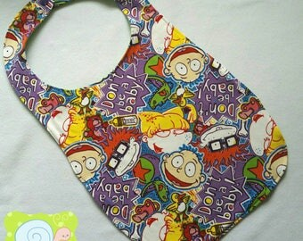 Don't Be A Baby Rugrats Cotton Knit Adult Bibs (ABDL)