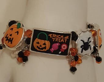 Halloween Bracelet, Free Shipping