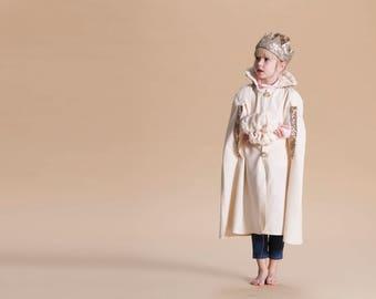 Halloween golden cape , costume children boy girl