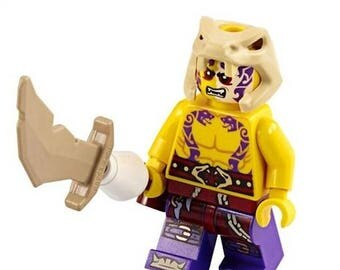 Lego Sleven Warrior Minifig Magnet or Push Pin/Thumb Tack Your Choice