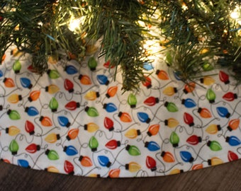 Christmas Tree Skirt-Christmas Lights-holiday Decor-Christmas Decorations-Holiday Lights-36""