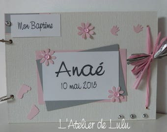 "Christening or birth ""Wai'anae"" guest book"