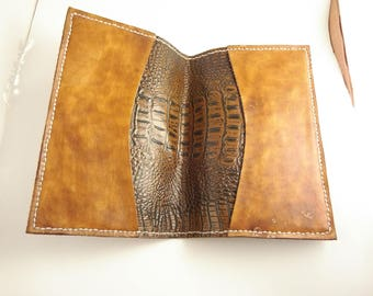 fitted leather bible cover