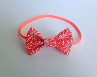 Headband with fabric bow