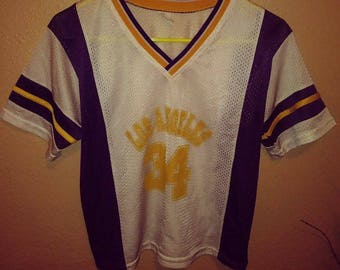 Vintage Los Angeles Womens Jersey Lakers colors