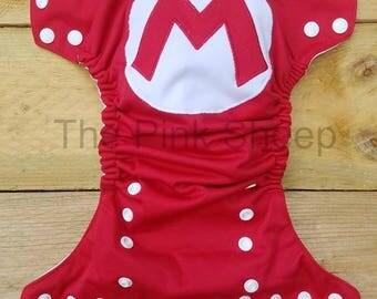 Mario OS Cloth Diaper