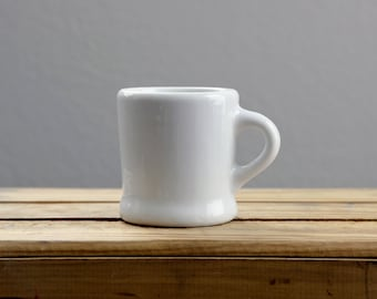 Faunfelter White Stoneware Mug