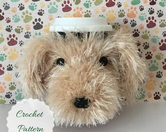 Dog Crochet Pattern - Dog Pattern - Amigurumi Pattern - Crochet Pattern Dog - Crochet Dog Pattern - Amigurumi Dog - Mug Cozy Pattern