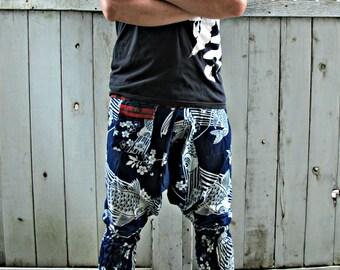 Sakura Koi FIsh (INDIGO BLUE) Ninja Pants