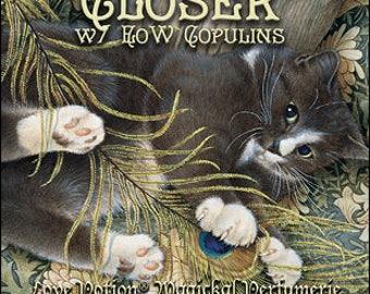 Ivory Cats: Closer w/ Copulins - for Women - Pheromone Enhanced Fragrance - Love Potion Magickal Perfumerie