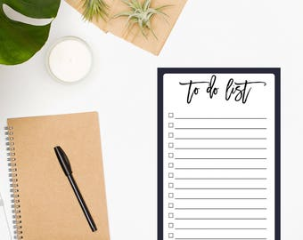 To Do List Notepad / Daily To Do List / Day Planner / Daily Planner Notepad / Chore List / To-Do List / To Do Planner / Todo List / Purple